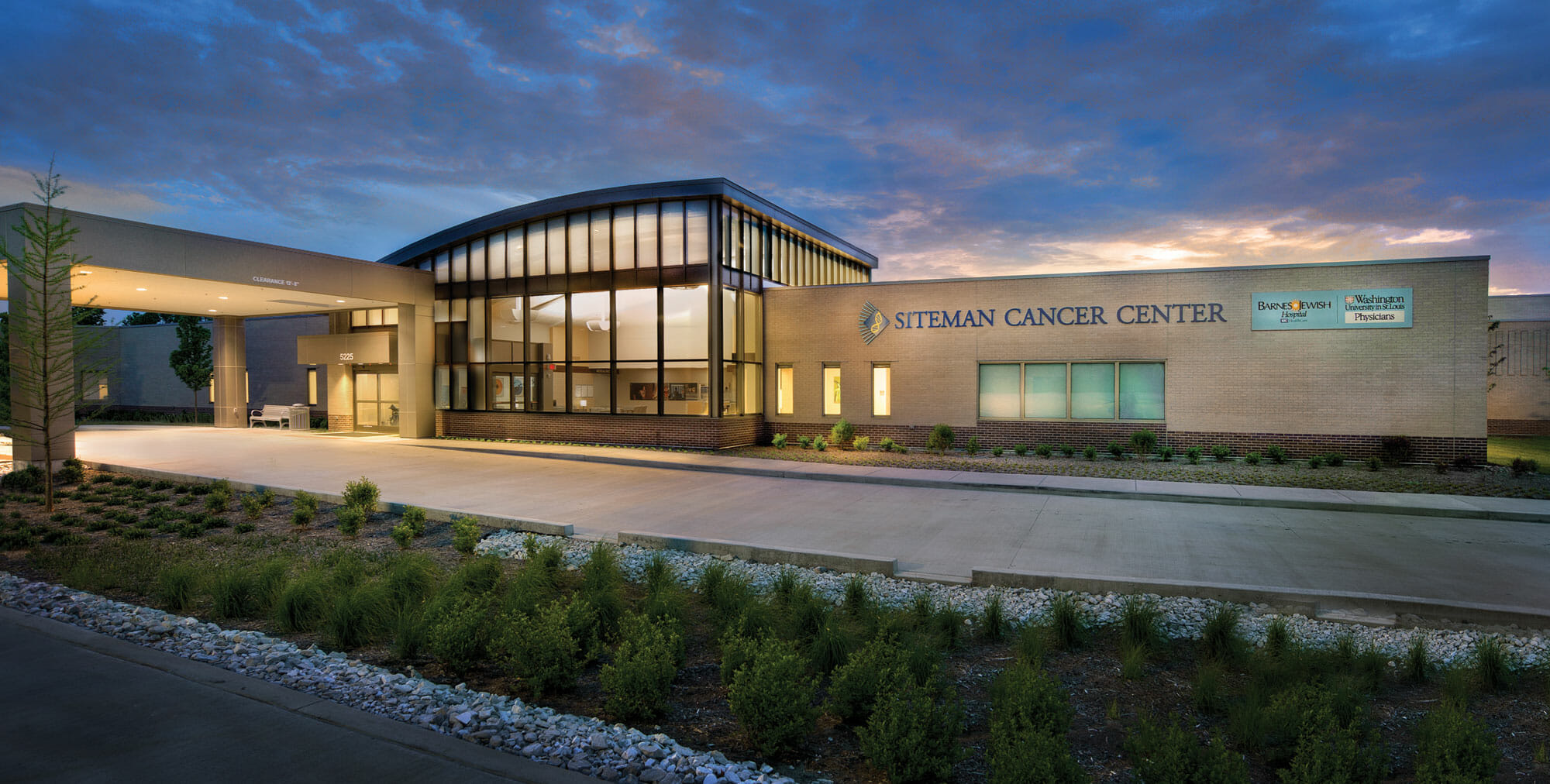 Siteman Cancer Center was named for the AGC Keystone Award Finalist