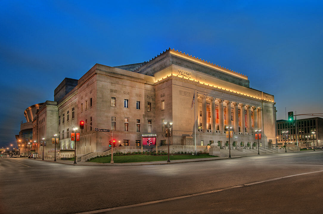 The Peabody Opera House was completed in October of 2012 by PARIC Construction as they did a great Historic Renovation.