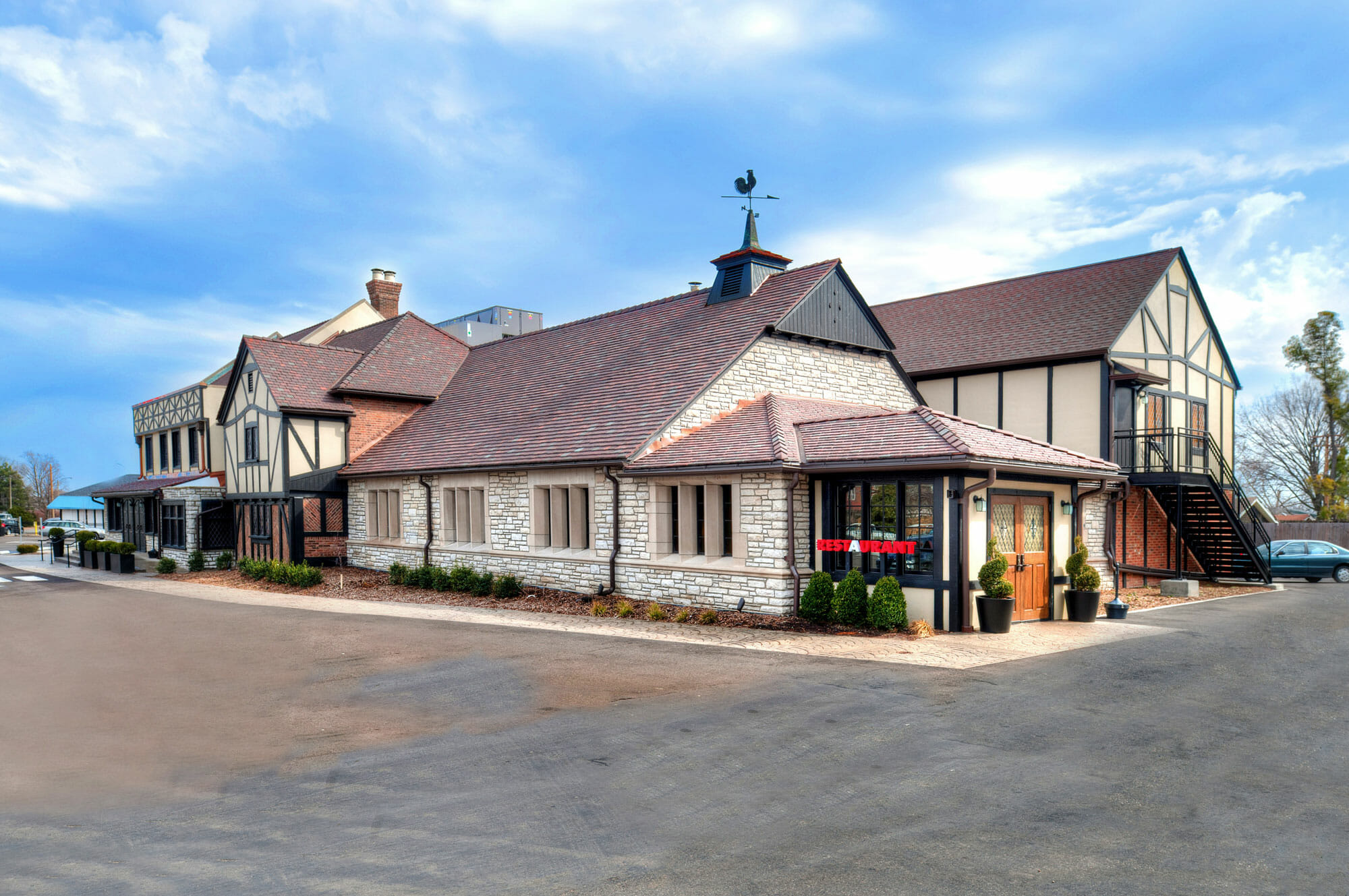 PARIC Corporation finished work on this 17,000 sq. foot Cheshire Restaurant Renovation
