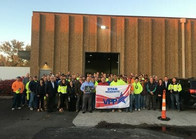 PARIC Earns OSHA VPP Certification for Construction Site Safety