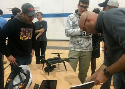 High Tech Construction Tools Attract Students to Industry Jobs