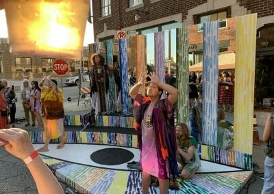 PARIC Builds Stage for West 18th Street Fashion Show
